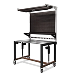 Industrial Height Adjustable Modular Workstation and Workbench by LTW Ergonomic Solutions