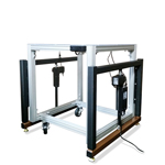 Industrial Height Adjustable E2 Retrofit Kit for Non-Adjustable Tables and Machines by LTW Ergonomic Solutions