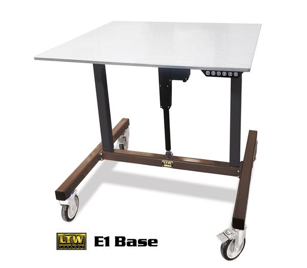 LTW-E1-Base-Height-Adjustable-Industrial-Machine-Base