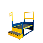 Industrially Height Adjustable Operator Platform by LTW Ergonomic Solutions