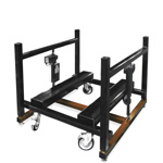 Icon-Industrially Height Adjustable E2LC Machine Base by LTW Ergonomic Solutions