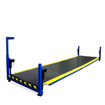 """Industrially Height Adjustable Operator Platform with 5"""" Lowered Height by LTW Ergonomic Solutions"""