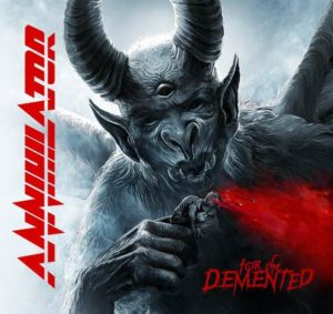 annihilator - for the demented album cover - mega-depth
