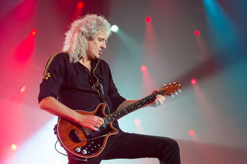 Brian May (Image: Getty)