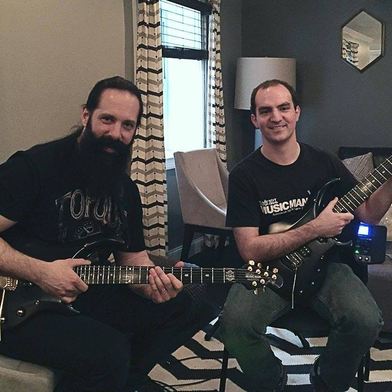 John Petrucci and Evan Bradley, 2016