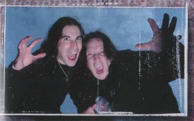 Zak Stevens (left) & Jon Oliva