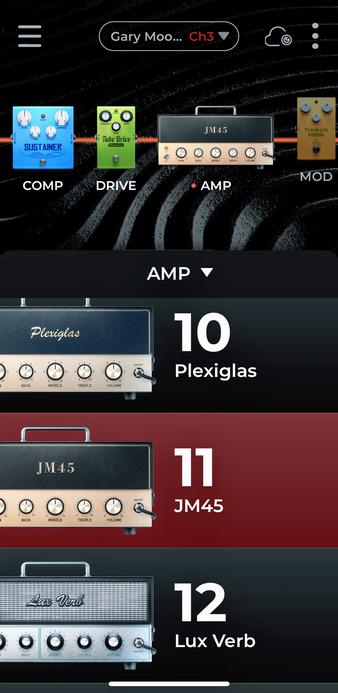 some amp options