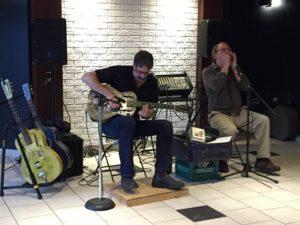 Tony Vani & Kenny Pauze @ Old Church Theatre