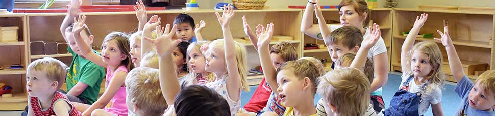 Photo of preschool classroom at the Bright Child Learning Center in Madison WI
