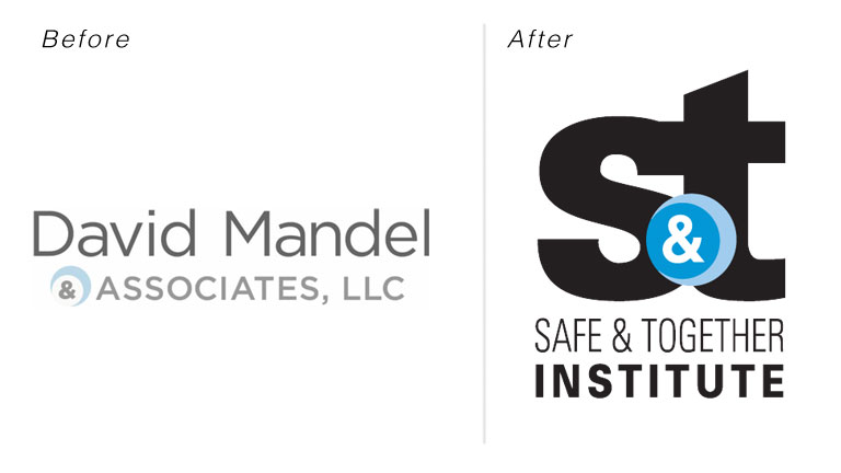 Safe & Together Institute – Rebrand, Logo/Identity & Social Application