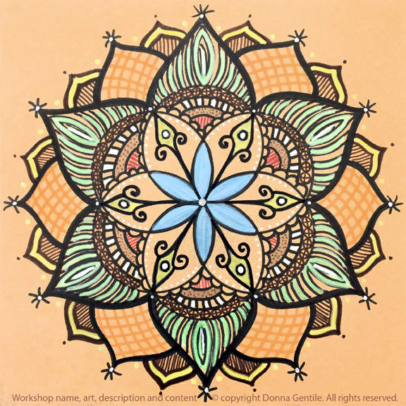 Seed of Life Nature Mandala (STEM, STEAM)