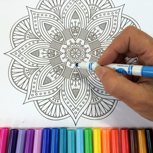 Meditative Coloring: The Chakras