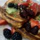 Bourbon berry French toast