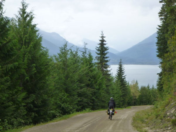 Cycling Trout Lake BC