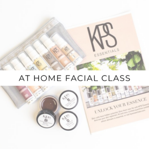 At Home Facial Class
