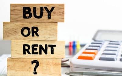Renting vs. Buying: Three Good Reason You Should Rent
