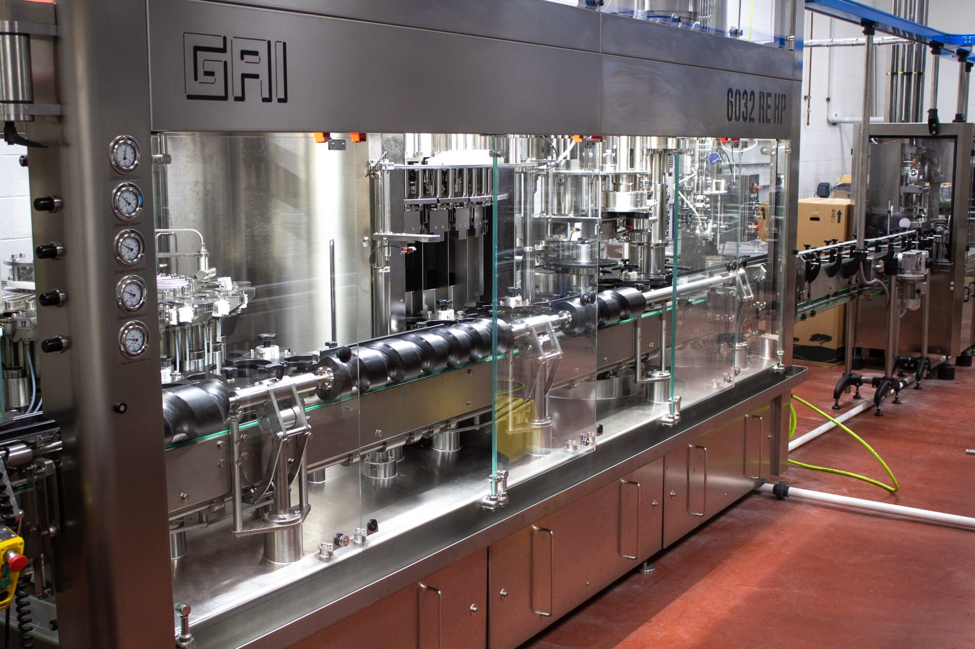 GAI Production Line wine dispenser 2
