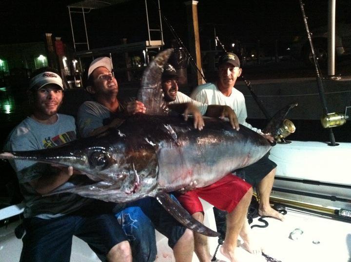 Giant Swordfish Key West Florida