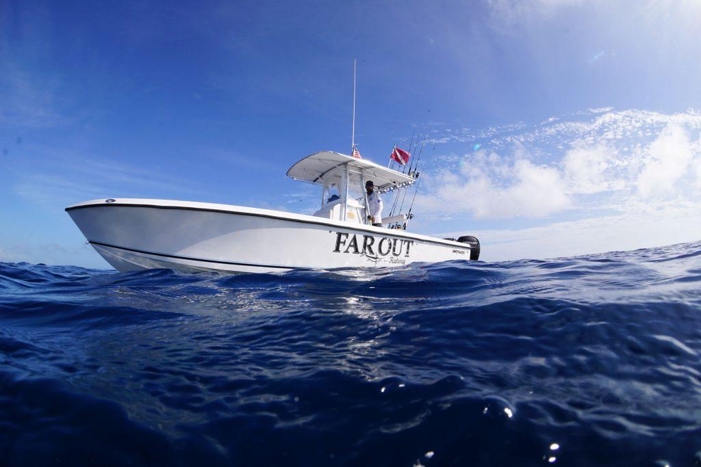 At Sea Far Out Fishing