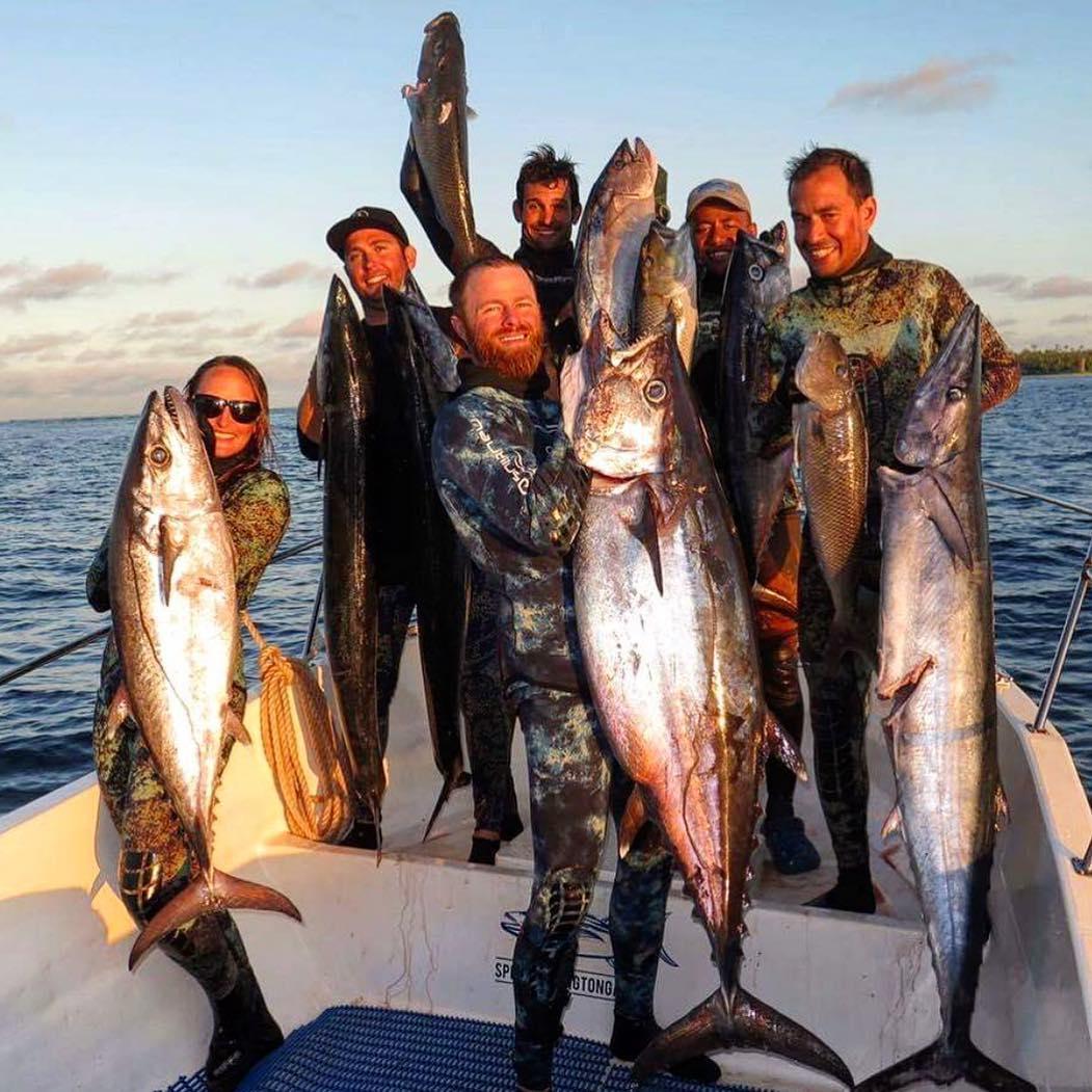 dogtooth tuna spearfishing