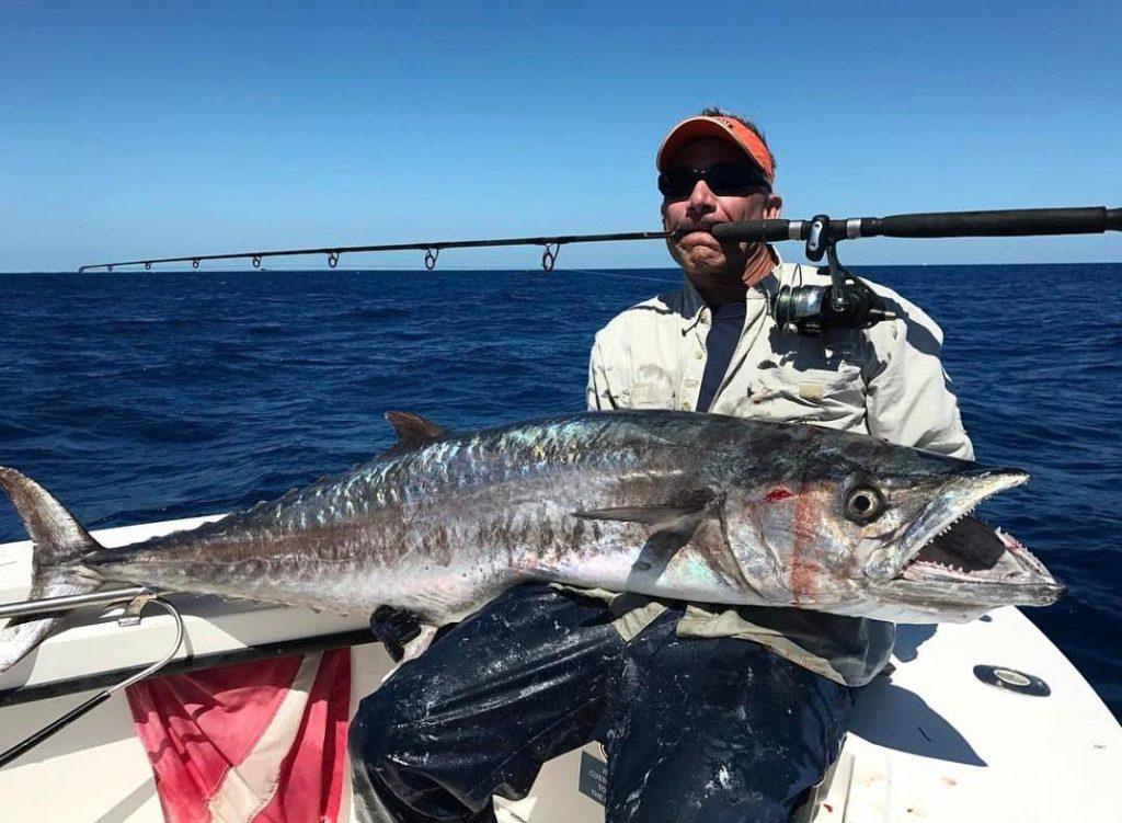 74 pound king mackerel
