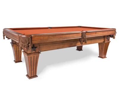 Presidential Billiards Brittany Table Cinnamon