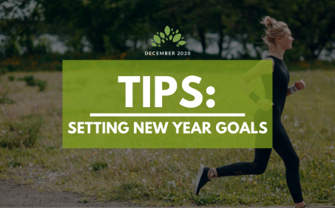 Tips: Setting New Year's Goals