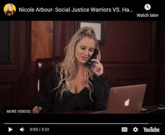Nicole Arbour - Social Justice VS Halloween