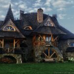 Whimsical Wooden Cottages At The Feet Of Tatra Mountains In Poland