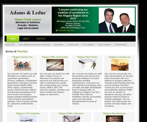 Adams & Leduc Barristers & Solicitors
