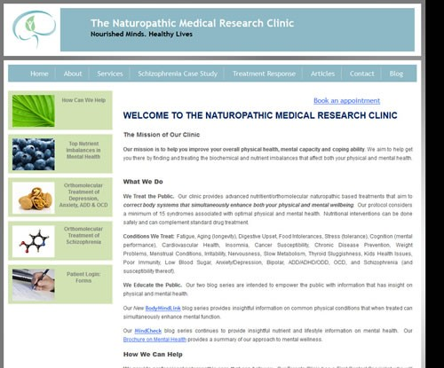 Naturopathic Medical Research Clinic
