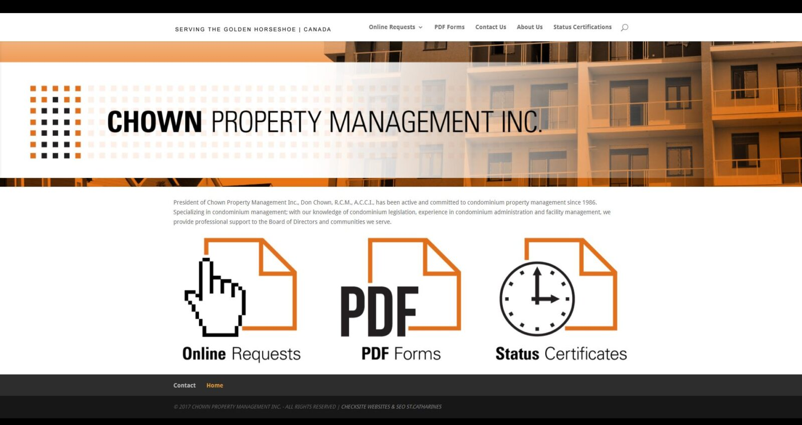 Chown Property Management Inc.