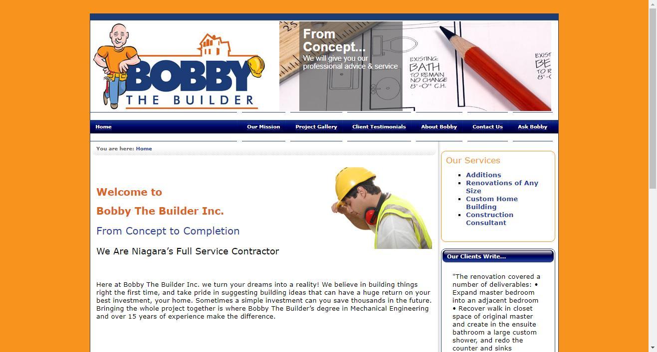 Bobby The Builder