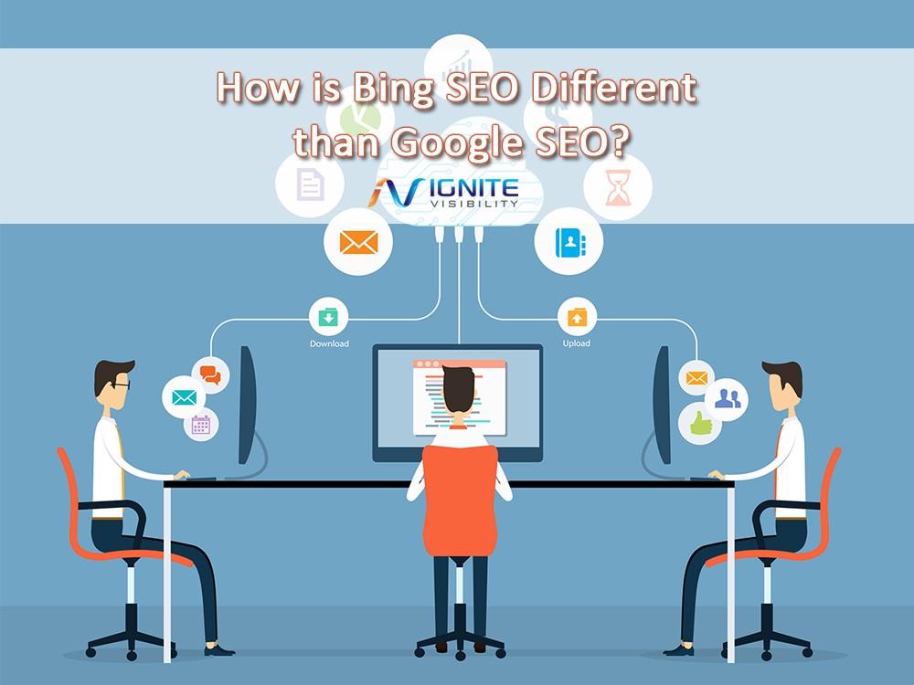 Watch Video on Bing vs Google for SEO