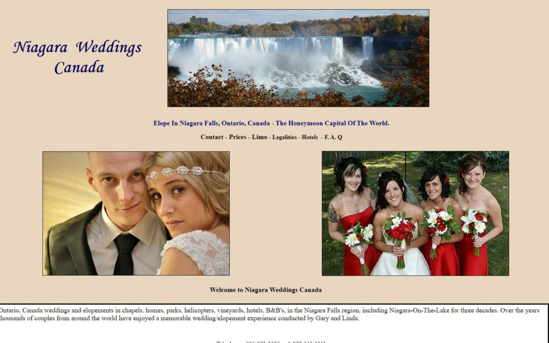 Niagara Weddings Canada