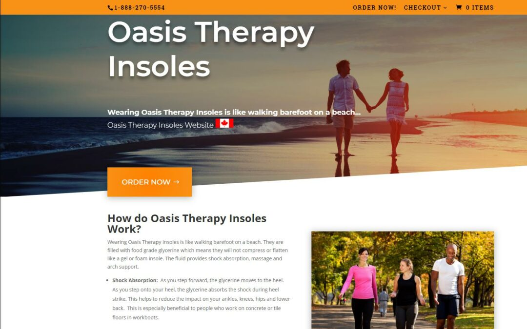 Oasis Therapy Insoles