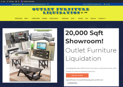 Outlet Furniture Liquidation