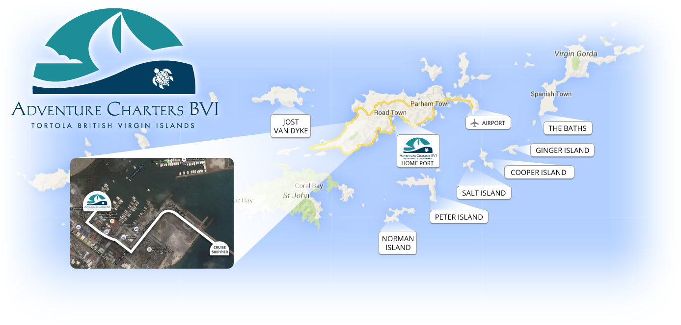 sailing charters bvi adventure