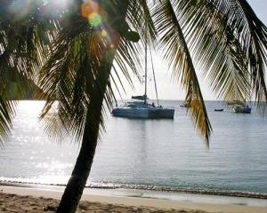 BVI day sailing