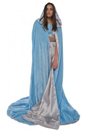 Lined Velvet Cloak