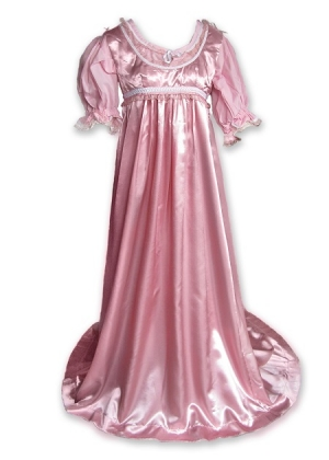 Regency Satin Ball Gown