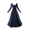 Fleur De Lis Medieval Gown Navy