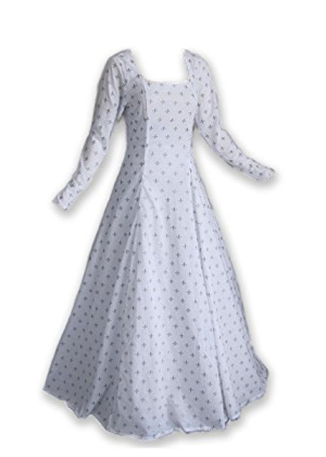 Fleur De Lis Medieval Gown