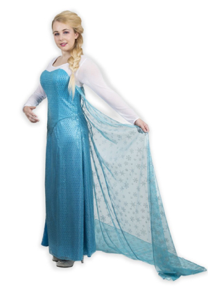 Princess Elsa Gown