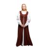 Ren Peasant Dress Brown