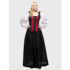 Ren RC Maiden Gown Black/Red