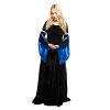 Ren Velvet Gown Black Blue