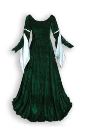 Renaissance Velvet Gown