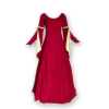 Ren Velvet Gown Red Gold