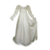 Satin Ren Dress Ivory